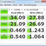 Zinc CnMemory 1TB USB 2.0 Crystal Benchmark