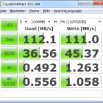 Zinc CnMemory 1TB USB 3.0 Crystal Benchmark