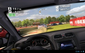 Real Racing 2 auf dem A700